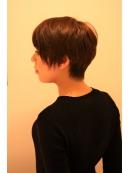 「平日 21時 土日曜日 19時」恵比寿 ショートヘア カットモデル♪